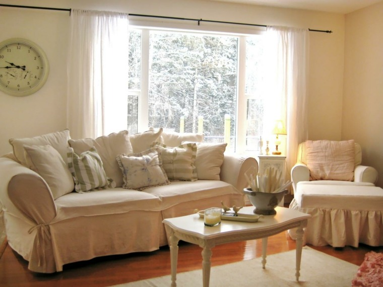 muebles salon estilo vintage