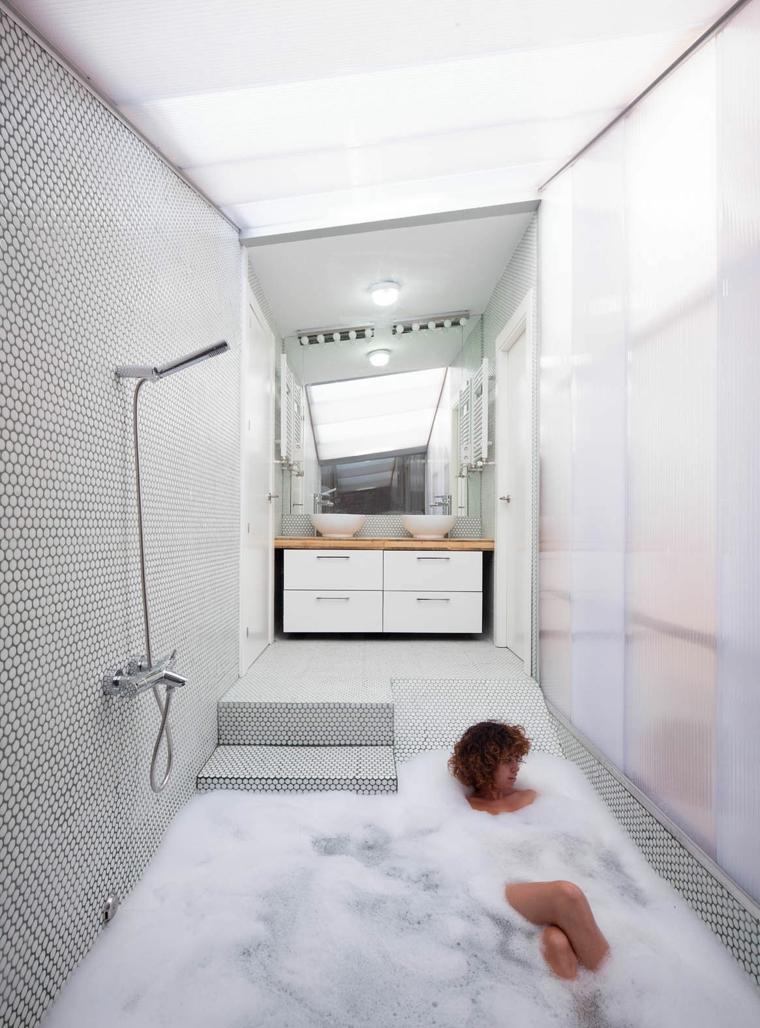 murales habitacion ideas diseño bañadera
