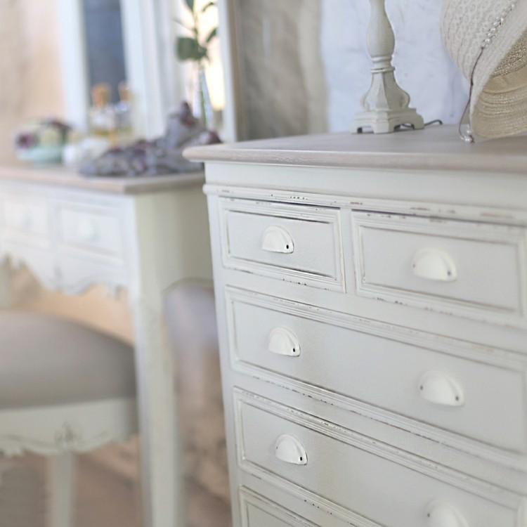 muebles blancos shabby chic