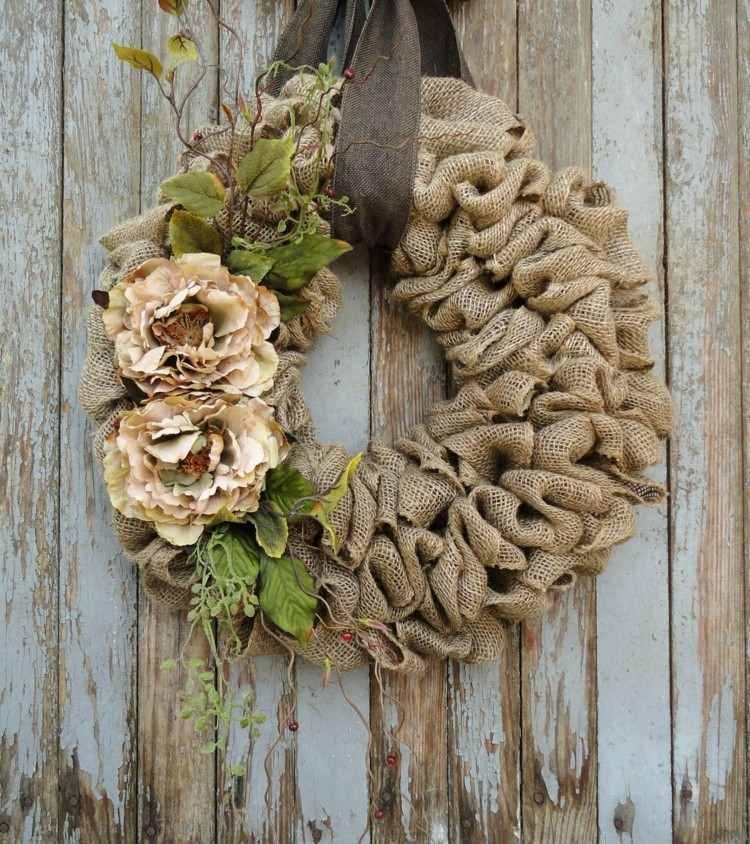 natural madera estilo hojas azul verde