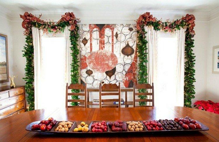 navidad creatividad plantas ideas colgantes mesa