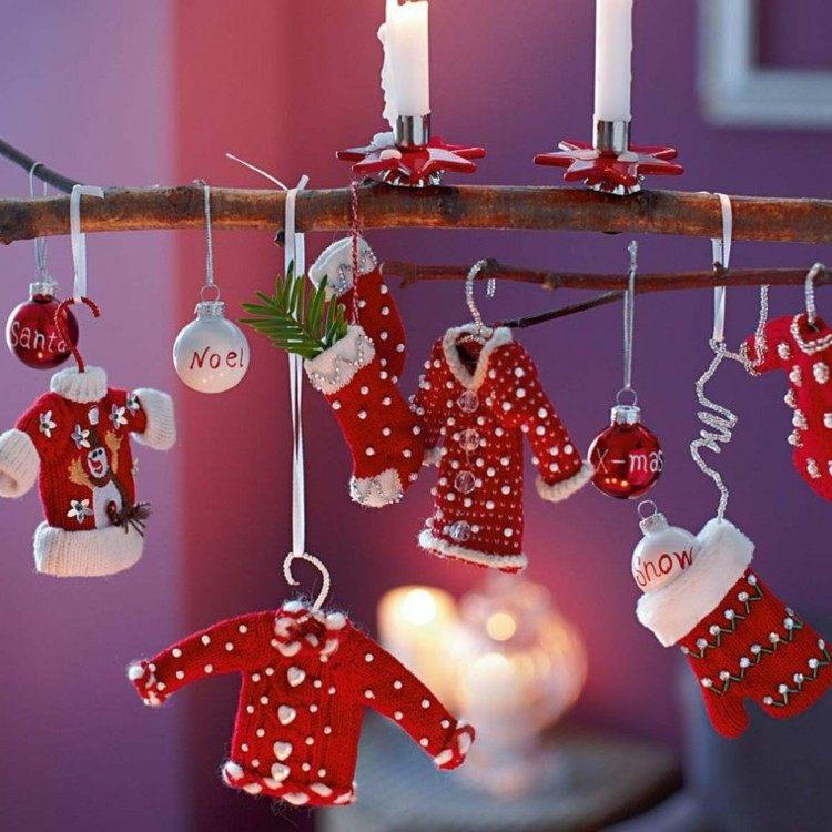 navidad creatividad ideas pinos minimalista bolas