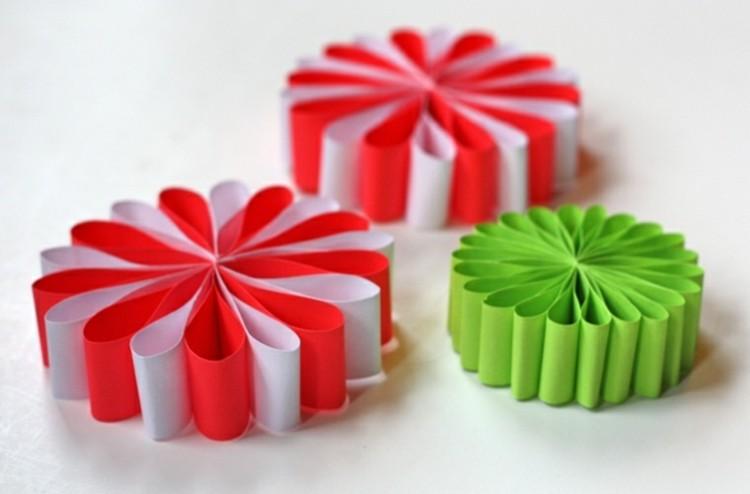 navidad manualidades faciles llamativo cintas