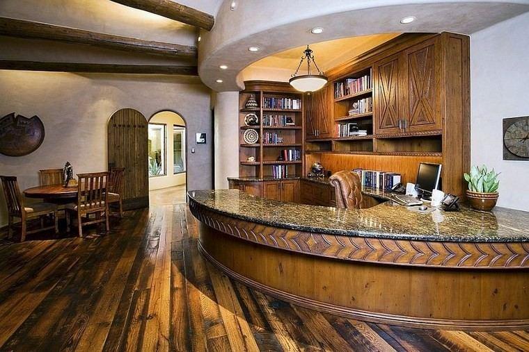 oficina estilo mediterraneo casa moderna sensacional ideas
