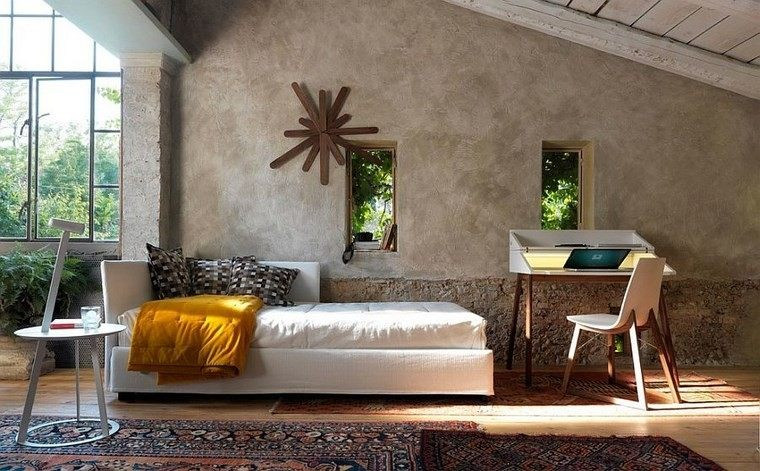 oficinas estilo mediterraneo casa moderna precioso relajante ideas