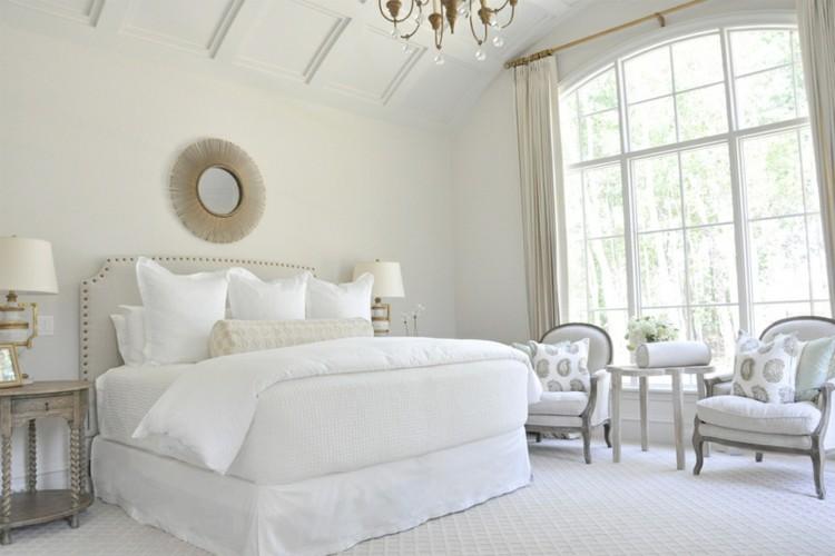 original dormitorio blanco estilo shabby chioc