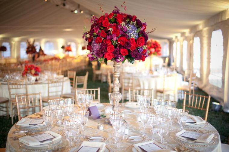 Centros de mesa para bodas 38 dise os rom nticos for Mesas de centro black friday