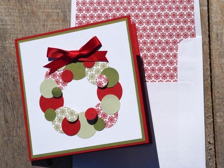 Tarjetas de navidad con dise os personalizados originales - Como hacer tarjetas de navidad faciles ...