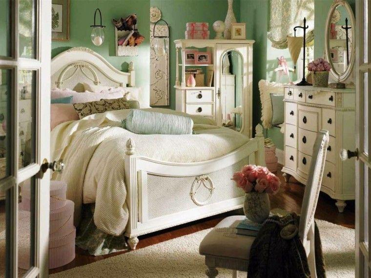 original dormitorio juvenil estilo vintage