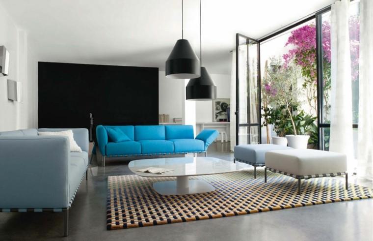 original dsieño sofá azul
