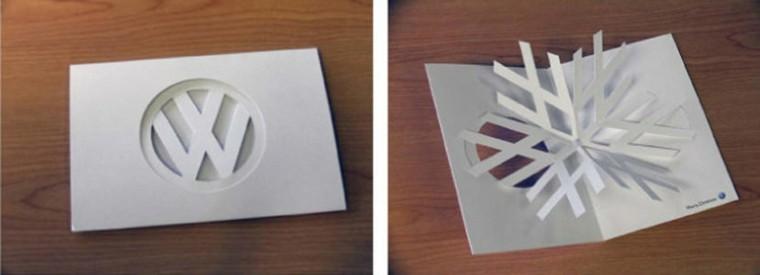original origami forma copo nieve
