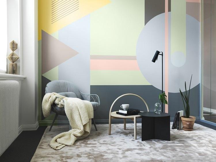 original pared muchas formas colores