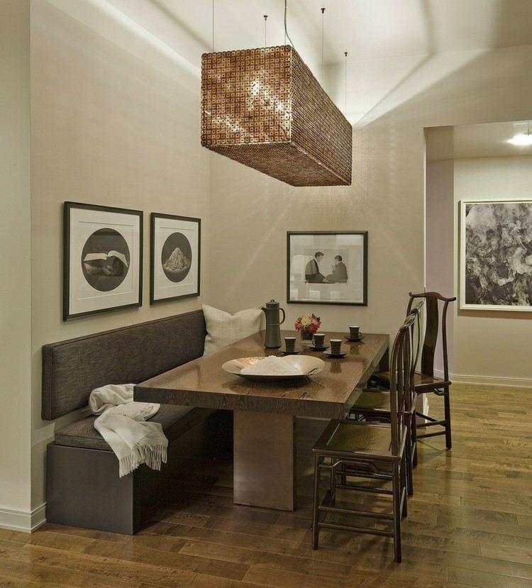 Muebles de comedor de colores oscuros 50 ideas - Muebles de comedor en murcia ...