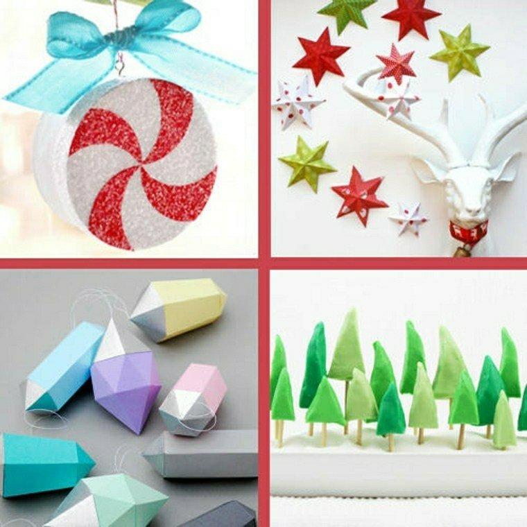 originales adornos deco navidad ideas