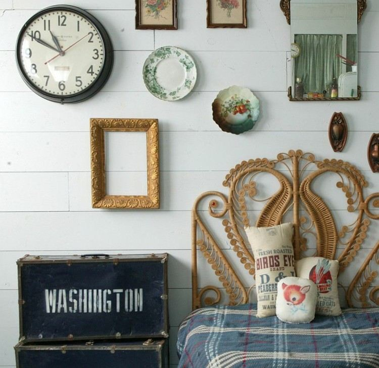 originales adornos pared Shabby chic