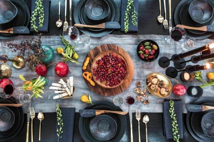 otoño ideas diferentes grises platos