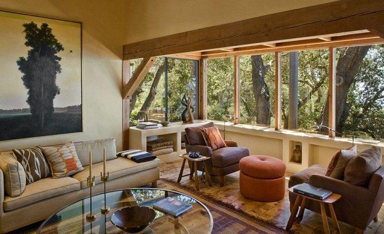 Paisaje belleza y relax, una cabaña muy especial en Big Sur.