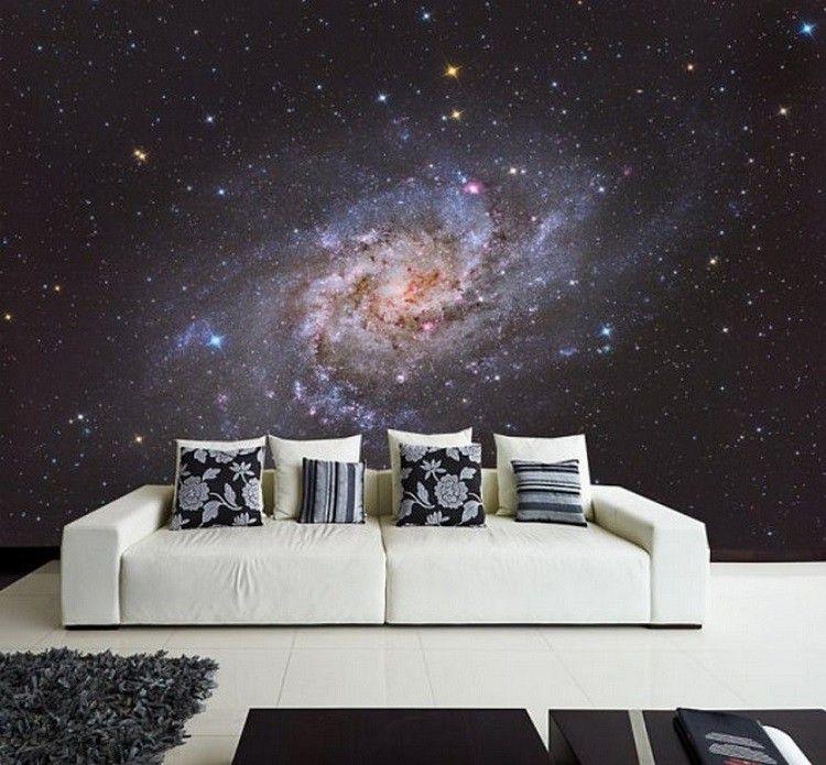 papel pared constelacion estrellas universo