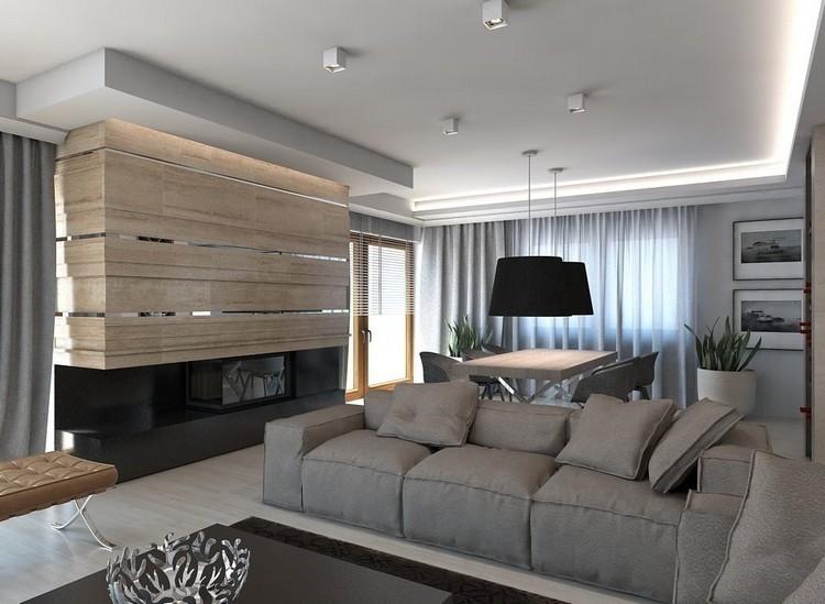 paredes diseño estilo decoracion lamparas