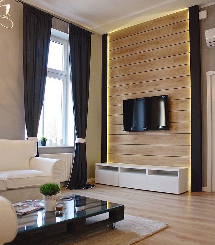 paredes diseño estilo plantas cestos led