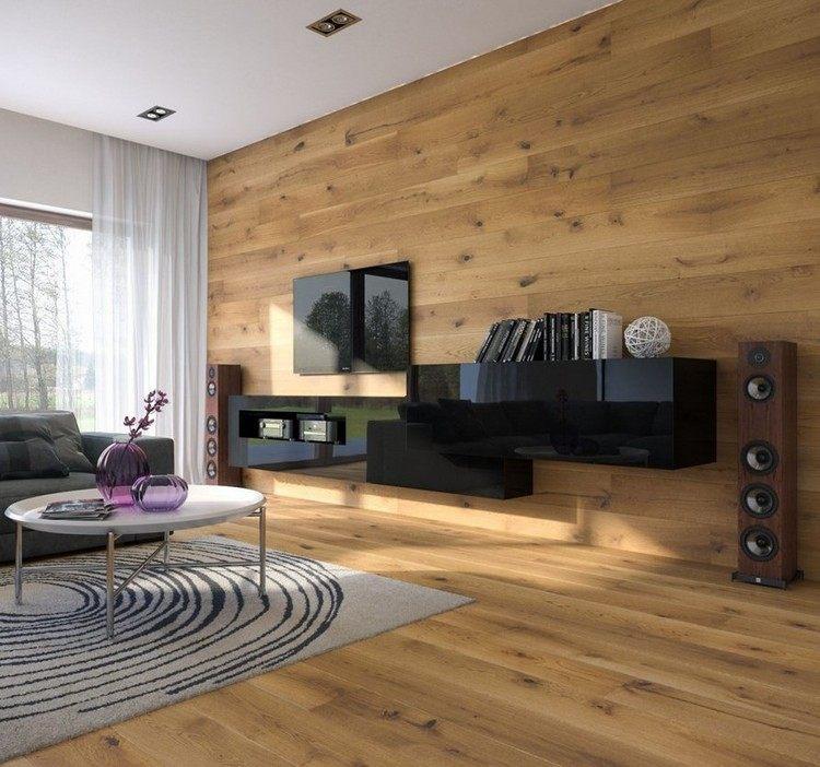 paredes diseño estilo rocas alfombras musica