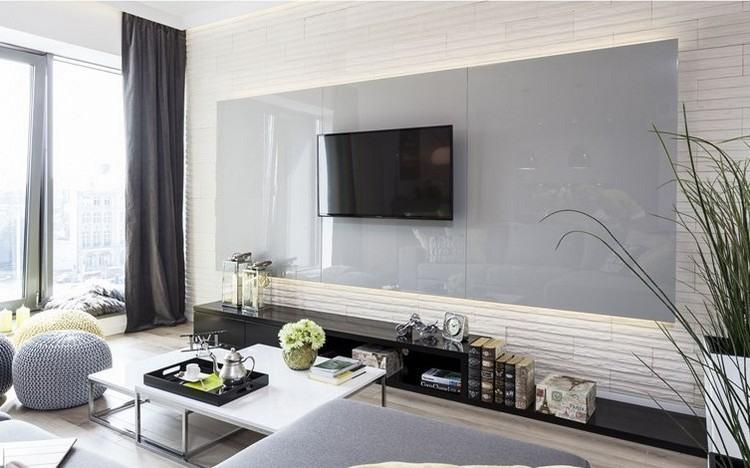 paredes diseño estilo rocas oscuras cortinas muebles