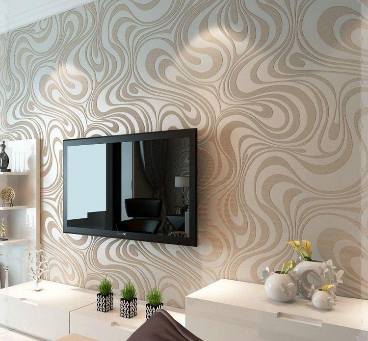 paredes diseño estilo rocas texturas flores