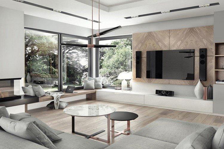 paredes diseño estilo rocas ventiladores vasijas