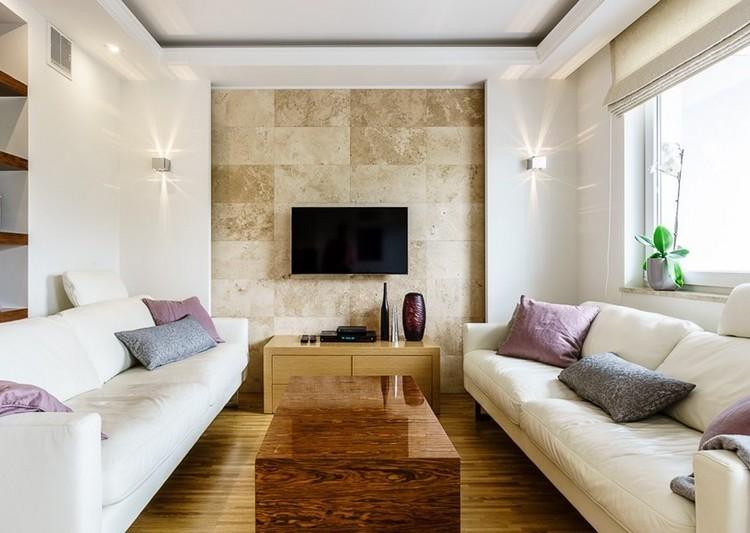 paredes diseño led salones iluminacion madera