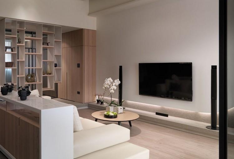 paredes diseño mueble decorado abierto flores