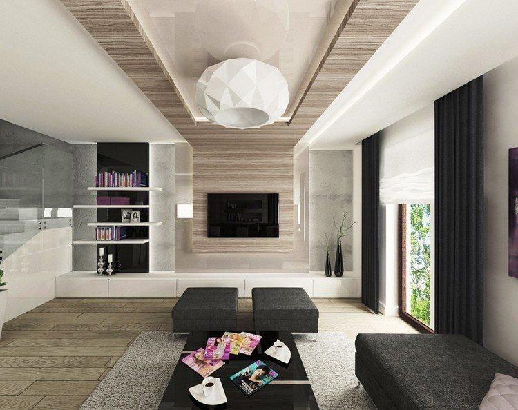 paredes diseño mueble estantes rosa colorido