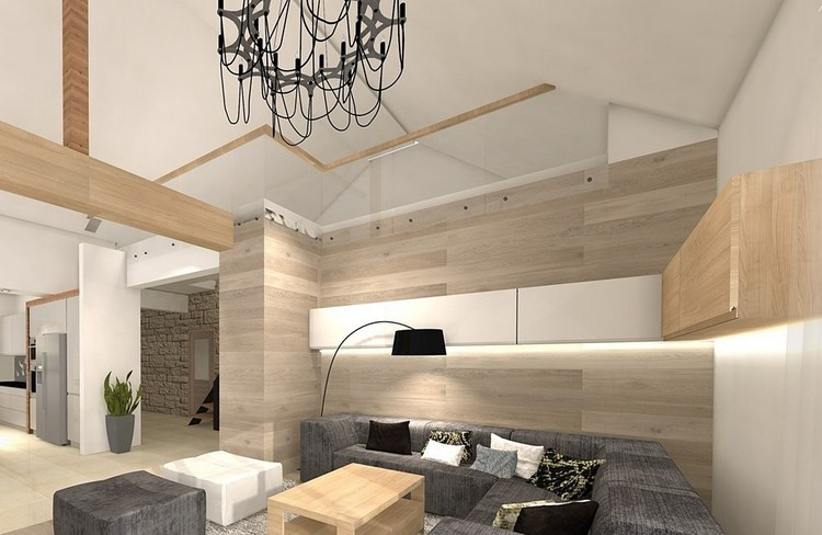 paredes diseño mueble estilos decorativo futurista