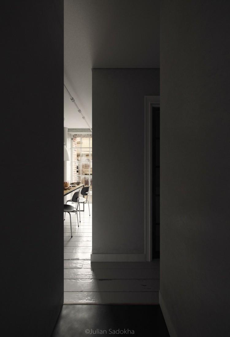 paredes estilo variantes suelo pasillo