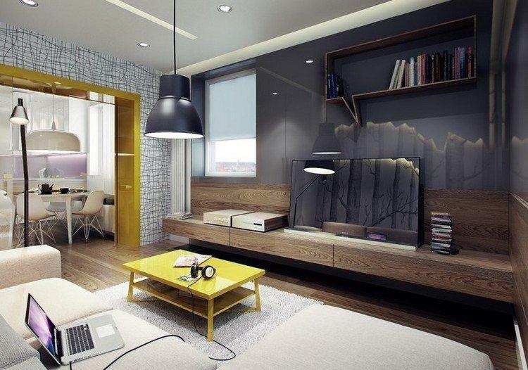 paredes grises estilos variantes lamparas