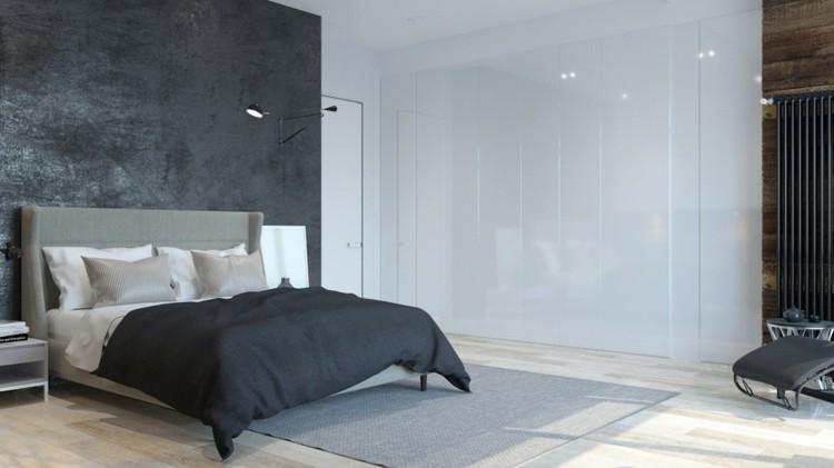 paredes interiores cristales grises cojines lacado