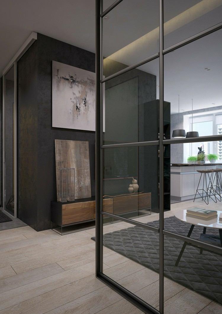 paredes interiores de vidrio en dos dise os asombrosos