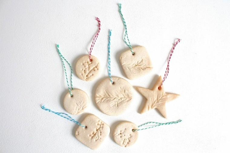 pasta sal decoracion navidena personalizada adornos arbol ideas
