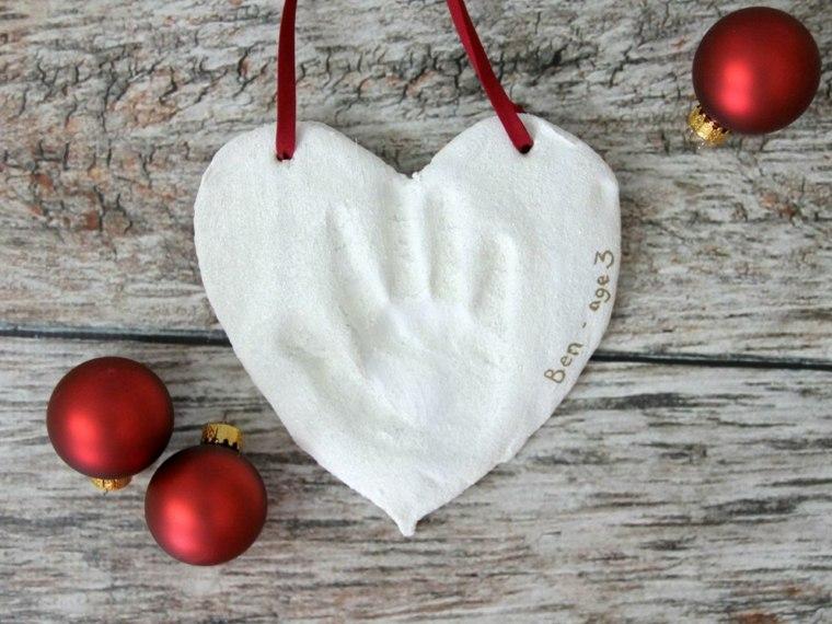 pasta sal decoracion navidena personalizada corazon blanco ideas