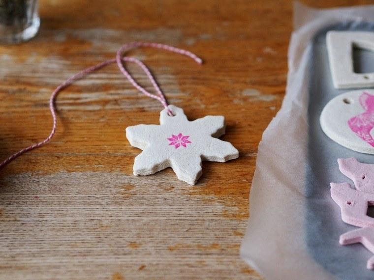 pasta sal decoracion navidena personalizada estrella pequena ideas