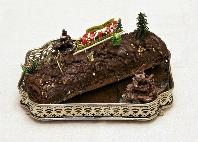postres navideños ideas estilo santa conos
