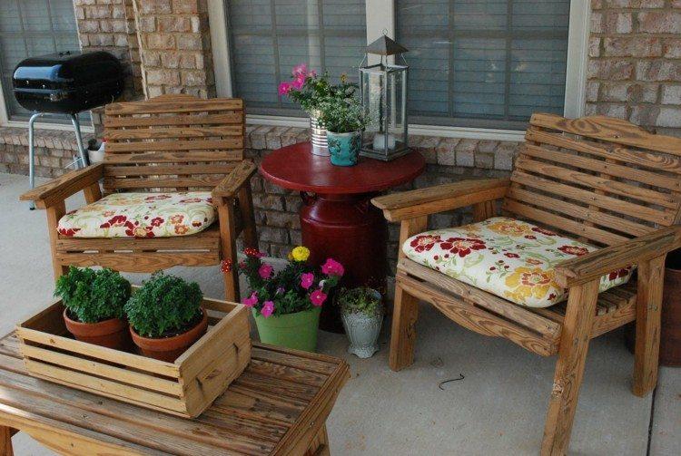 primavera ideas decorativas porche ventanas madera