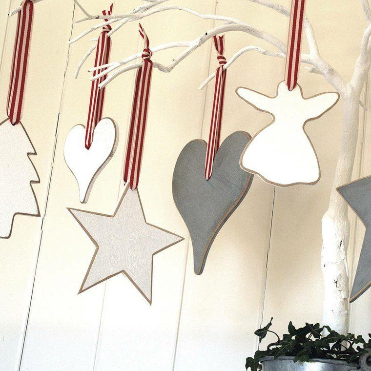 productos adornos navidenos madera angel ideas