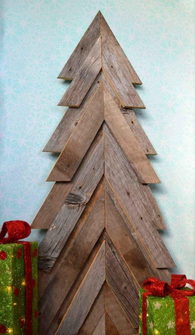 productos ecologicos adornos navidenos madera arbol grande ideas