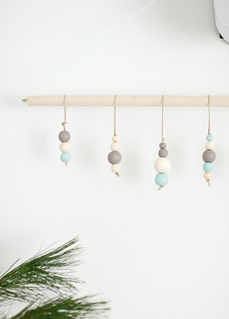 productos adornos navidenos madera minimalista ideas