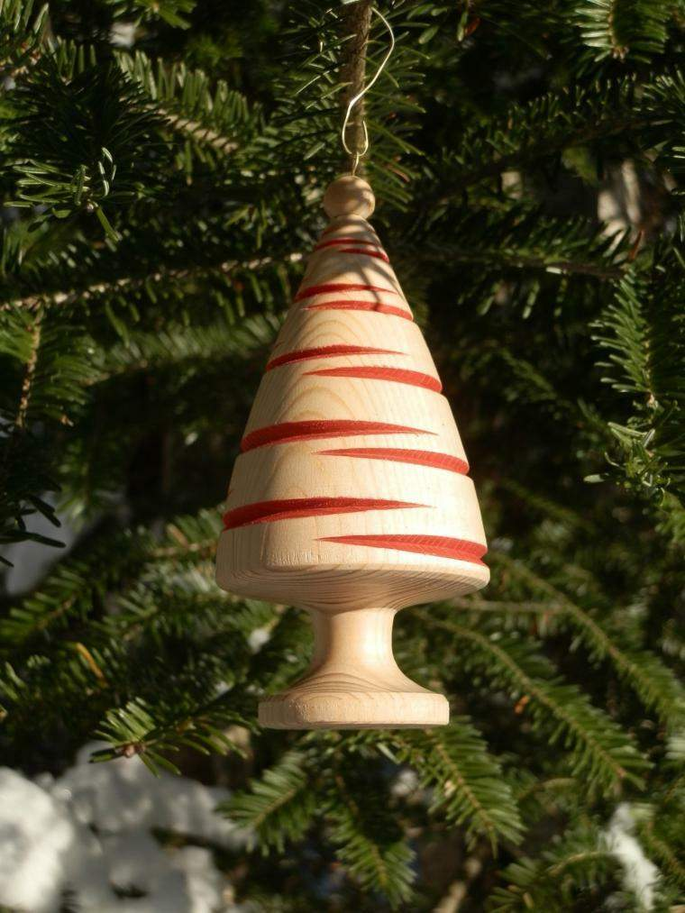 productos adornos navidenos madera natural ideas