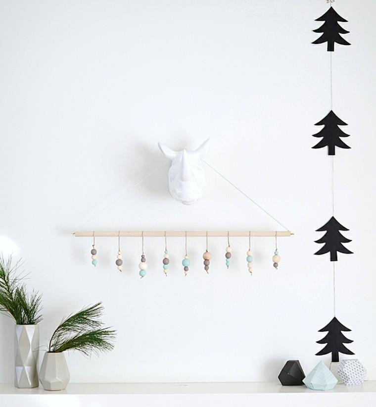 productos adornos navidenos madera pared ideas