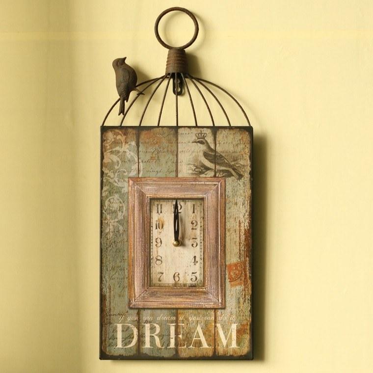 Decoracion vintage complementos para el hogar - Decoracion relojes de pared ...