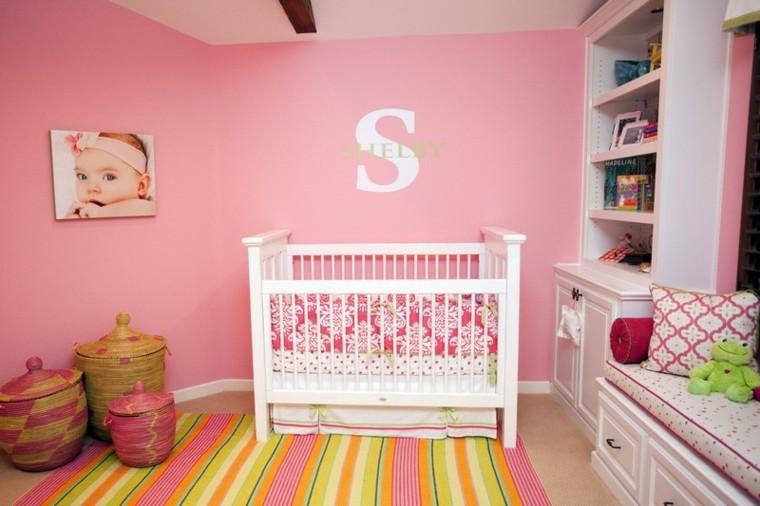 rosa ambiente paredes estilo amarillo
