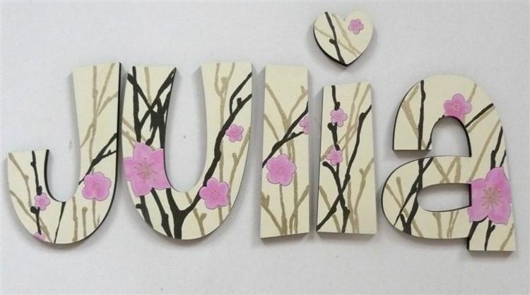 rosa madera bosque letras flores