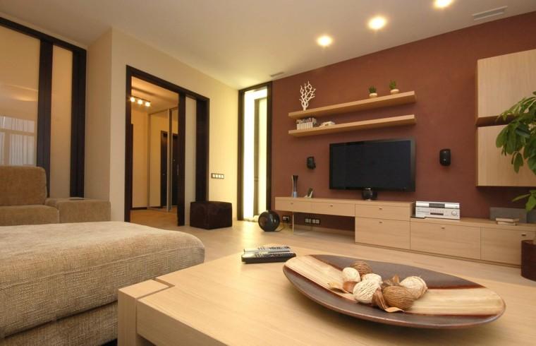 salón moderno estilo minimalista
